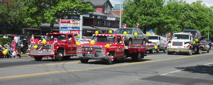888 Junk truck in parade